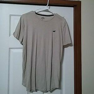Hollister curved hem must have t-shirt